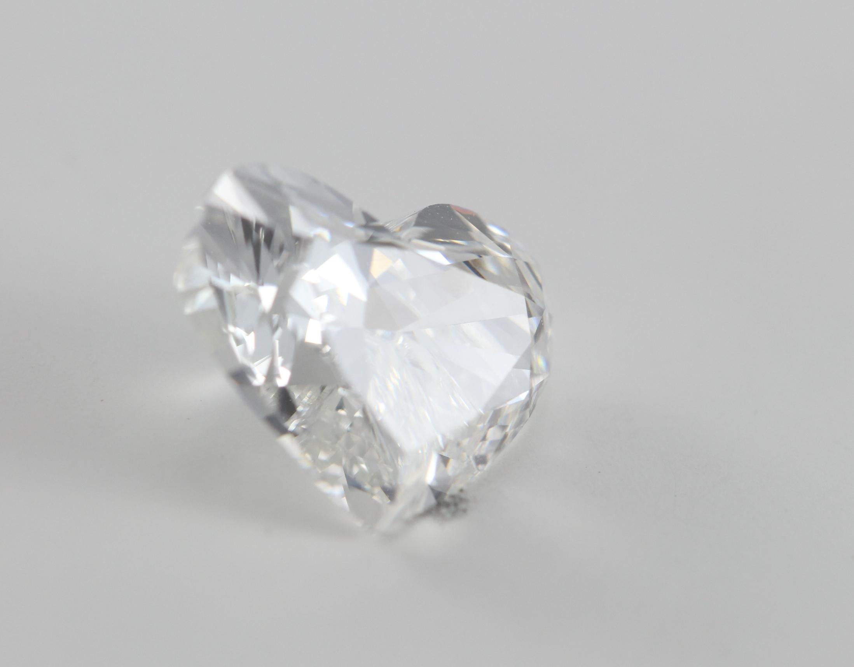 Heart Cut Loose Diamond 1 72 Ct H Vs2 Gia Certified Ebay