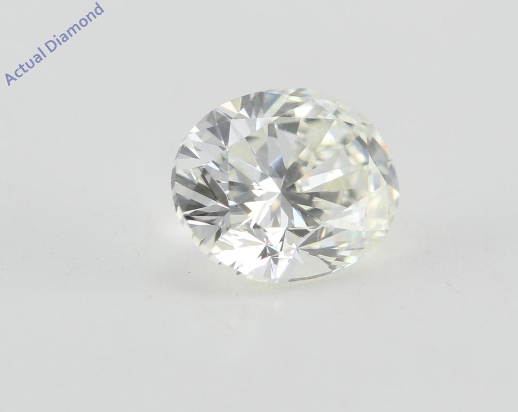 Oval Cut Loose Diamond 1 Ct H Color Vvs2 Clarity Igl